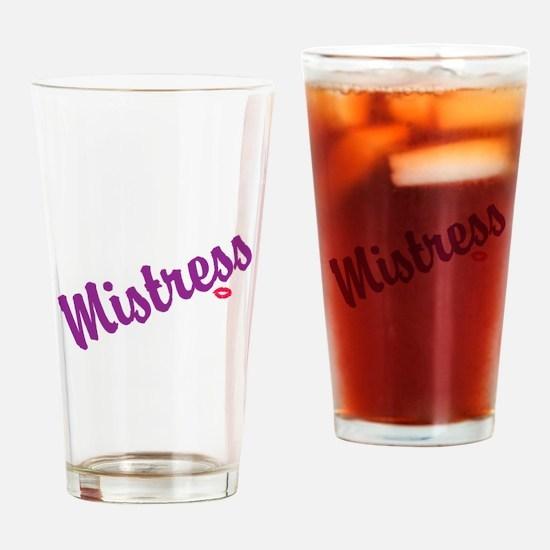 Mistress Drinking Glass