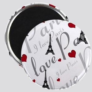 Trendy I LOVE PARIS Magnet