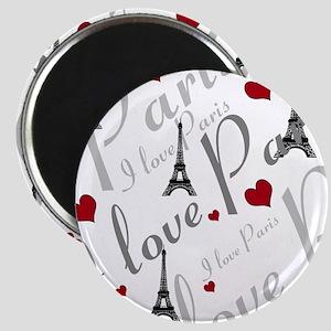 Trendy I LOVE PARIS Magnet