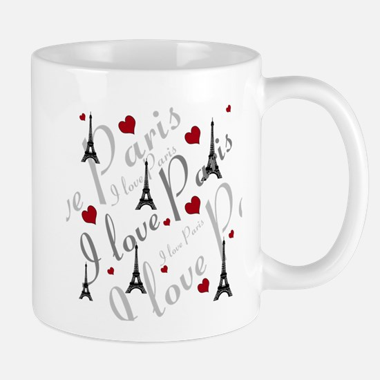Trendy I LOVE PARIS Mug