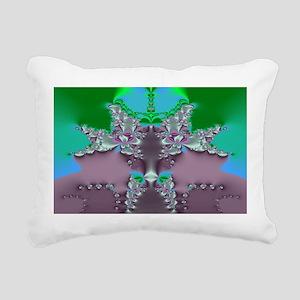 Spring Blooms Rectangular Canvas Pillow