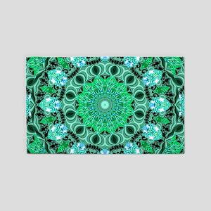 Emerald Crystals 3'x5' Area Rug