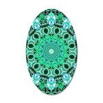 Emerald Crystals 20x12 Oval Wall Decal