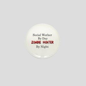 Social Worker/Zombie Hunter Mini Button