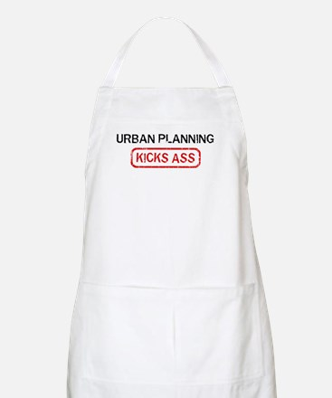 URBAN PLANNING kicks ass BBQ Apron