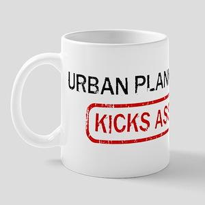 URBAN PLANNING kicks ass Mug