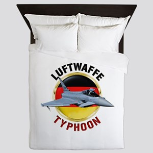 Luftwaffe Typhoon Queen Duvet