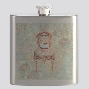 French Cupcake Victorian Flask
