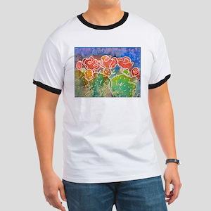 Colorful cactus, southwest art T-Shirt