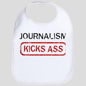 JOURNALISM kicks ass Bib