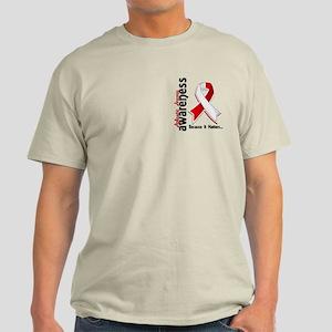 Awareness 5 Aplastic Anemia Light T-Shirt
