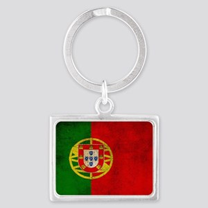 Portugal flag Landscape Keychain