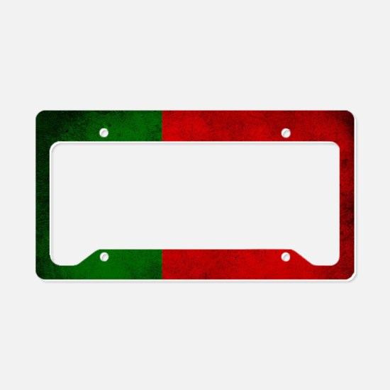 Portugal flag License Plate Holder