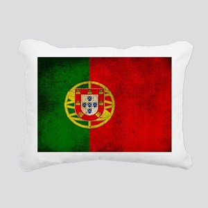 Portugal flag Rectangular Canvas Pillow