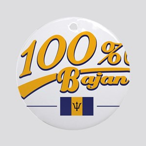 100% bajan Ornament (Round)