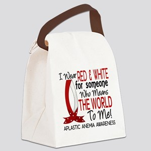 Means World to Me 1 AA Canvas Lunch Bag