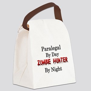 Paralegal/Zombie Hunter Canvas Lunch Bag