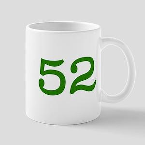 GREEN #52 Mug
