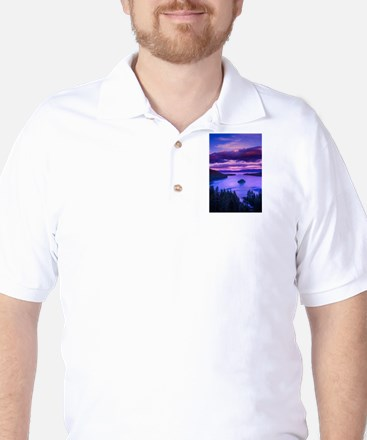 EMERALD BAY lake tahoe Golf Shirt