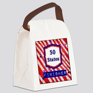 50 States Finisher Canvas Lunch Bag