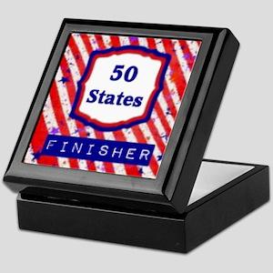 50 States Finisher Keepsake Box