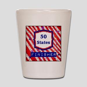 50 States Finisher Shot Glass