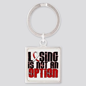 Aplastic Anemia Losing Not Option Square Keychain