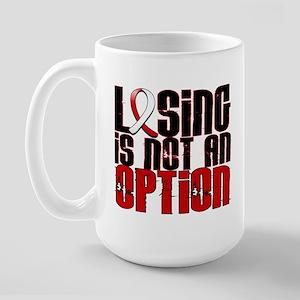 Aplastic Anemia Losing Not Option Large Mug