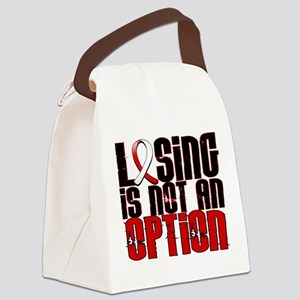 Aplastic Anemia Losing Not Option Canvas Lunch Bag