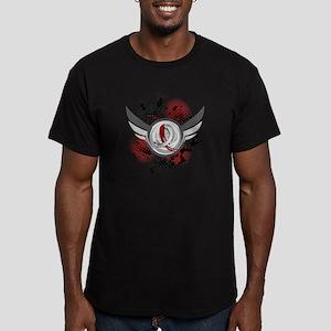 Aplastic Anemia Grunge Men's Fitted T-Shirt (dark)