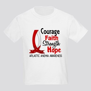 Courage Faith 1 Aplastic Anemia Kids Light T-Shirt