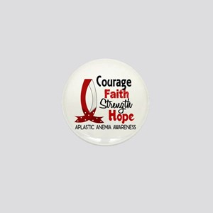 Courage Faith 1 Aplastic Anemia Mini Button