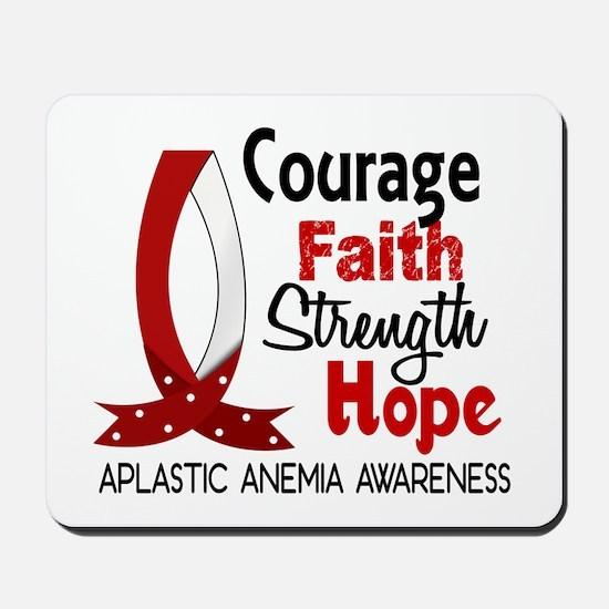 Courage Faith 1 Aplastic Anemia Mousepad