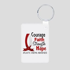 Courage Faith 1 Aplastic A Aluminum Photo Keychain