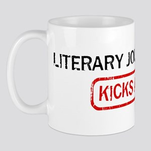 LITERARY JOURNALISM kicks ass Mug
