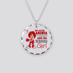 Aplastic Anemia Messed With Necklace Circle Charm