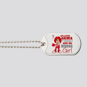 Aplastic Anemia Messed With Wrong Girl Dog Tags