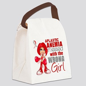 Aplastic Anemia Messed With Wrong Canvas Lunch Bag