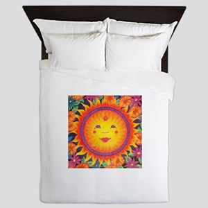 Bright Sun Queen Duvet