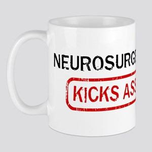 NEUROSURGERY kicks ass Mug