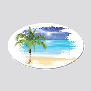 Beach Wall Decals Cafepress