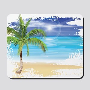 Beach Scene Mousepad
