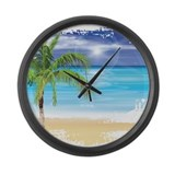 Tropical Wall Clocks