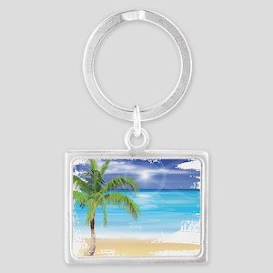 Beach Scene Keychains