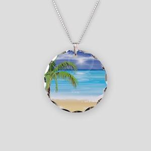 Beach Scene Necklace