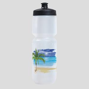 Beach Scene Sports Bottle