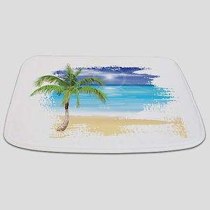 Beach Scene Bathmat