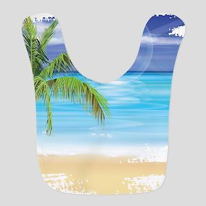 Beach Scene Bib