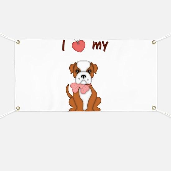 I love my bulldog (pic) 2 Banner