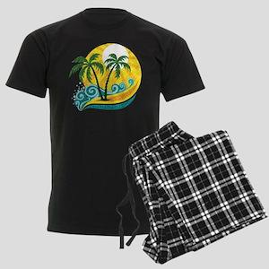 Sunny Palm Tree Pajamas